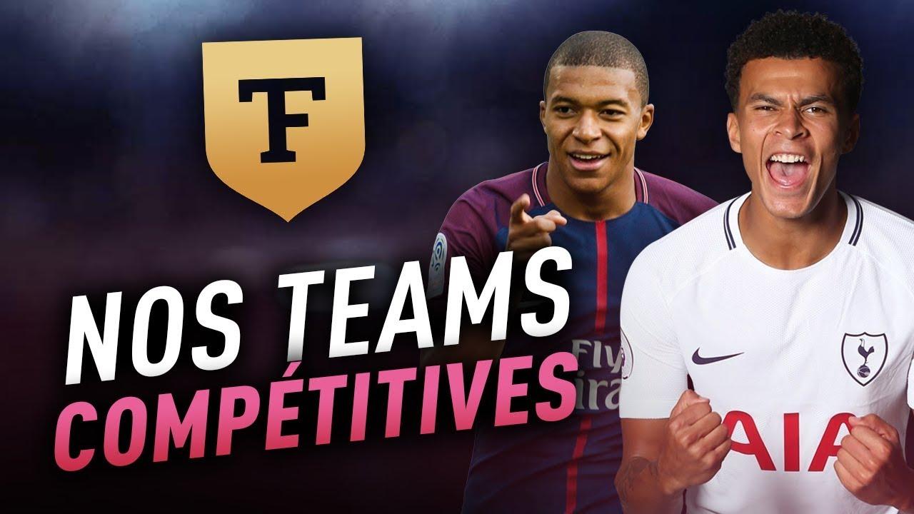 TéléFUT #6 : Nos 3 teams les plus compétitives !
