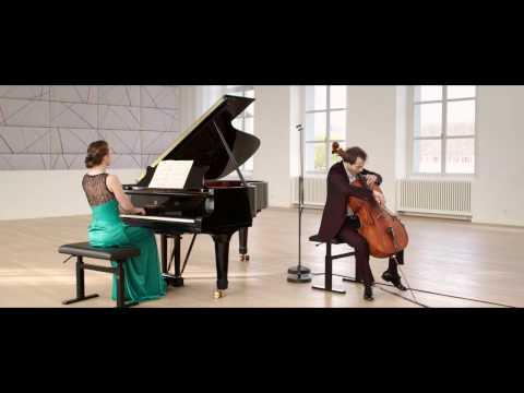 F. Chopin: Polonaise Brillante, Christoph Croisé, Cello, Oxana Shevchenko, Piano