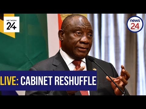 WATCH LIVE | #CabinetReshuffle: Ramaphosa announces changes to National Executive