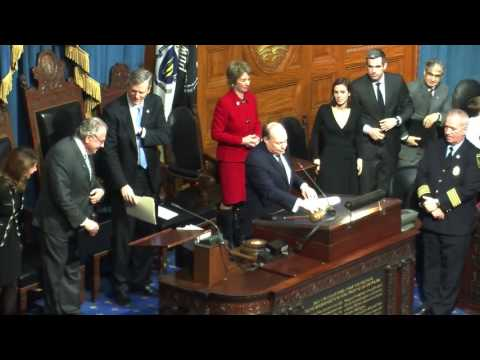Joint Session of Mass. Legislature for JFK Centennial