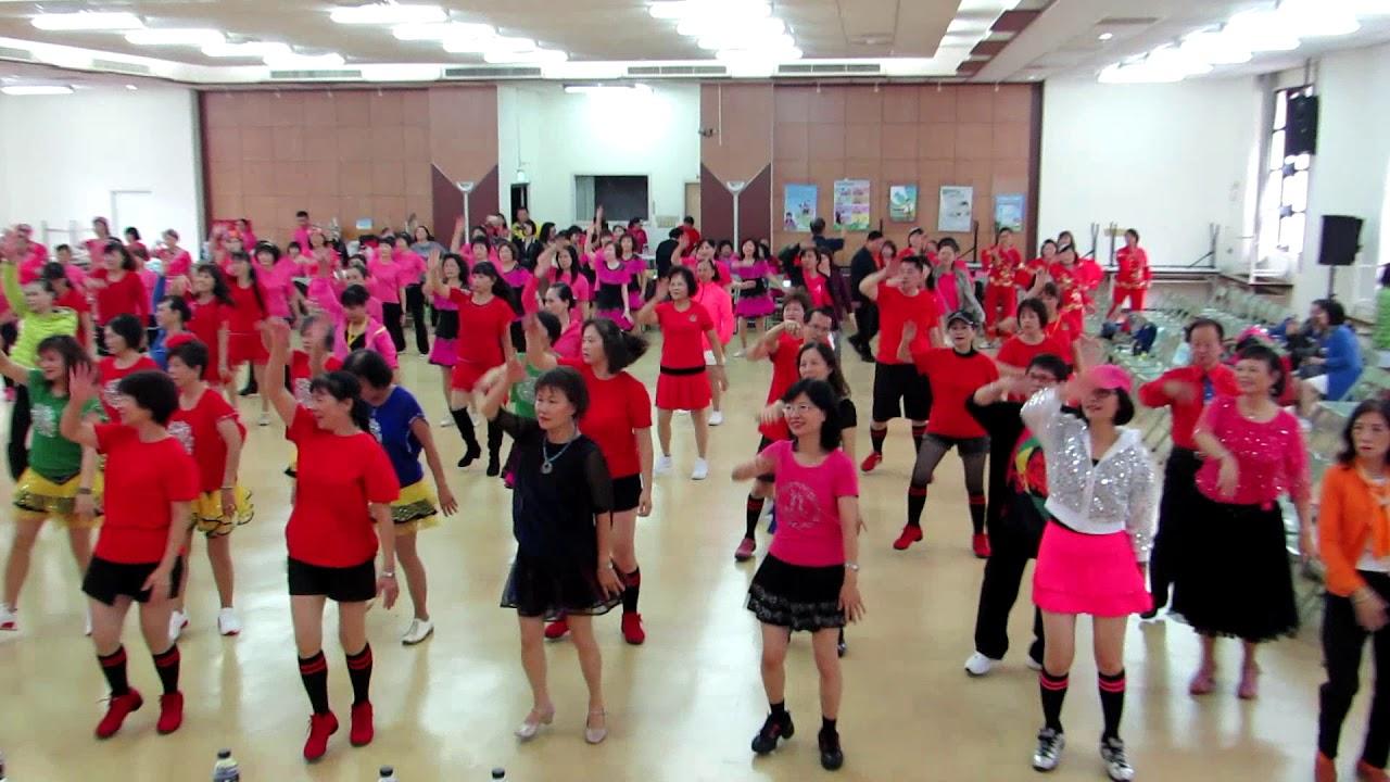 106年桃園市體育會土風舞委員會樂舞飛揚舞動人生-童年 - YouTube