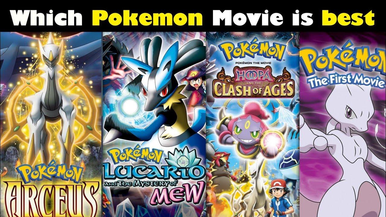 Which Pokemon movie is best || Ranking All Pokemon movies || Pokemon Movie in hindi