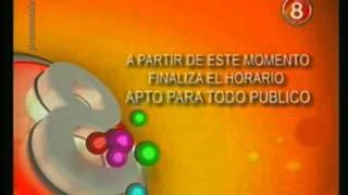 Fin del horario ATP de Canal 8 San Juan - 2011