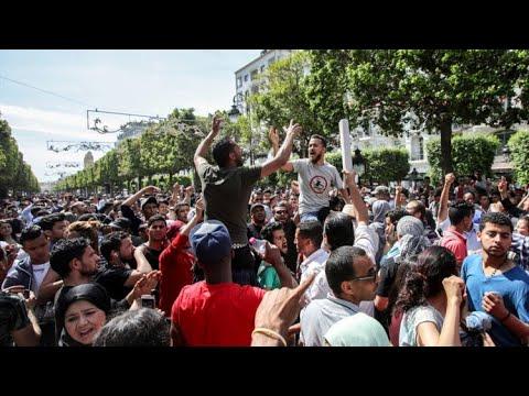 إضراب عام ومظاهرات في تونس  - 10:55-2019 / 1 / 17