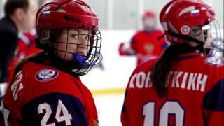Драка  Хоккей  Россия Чехия  Чемпионат мира  Молодежная женская сборная  11 января 2017