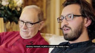 """Ennio Morricone i Alessandro De Rosa rozmawiają o książce """"Moje życie, moja muzyka"""""""