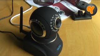 Installation & Funktionen: HooToo HT-IP210HD Wireless IP-Kamera / WLAN WiFi H.264 Camera