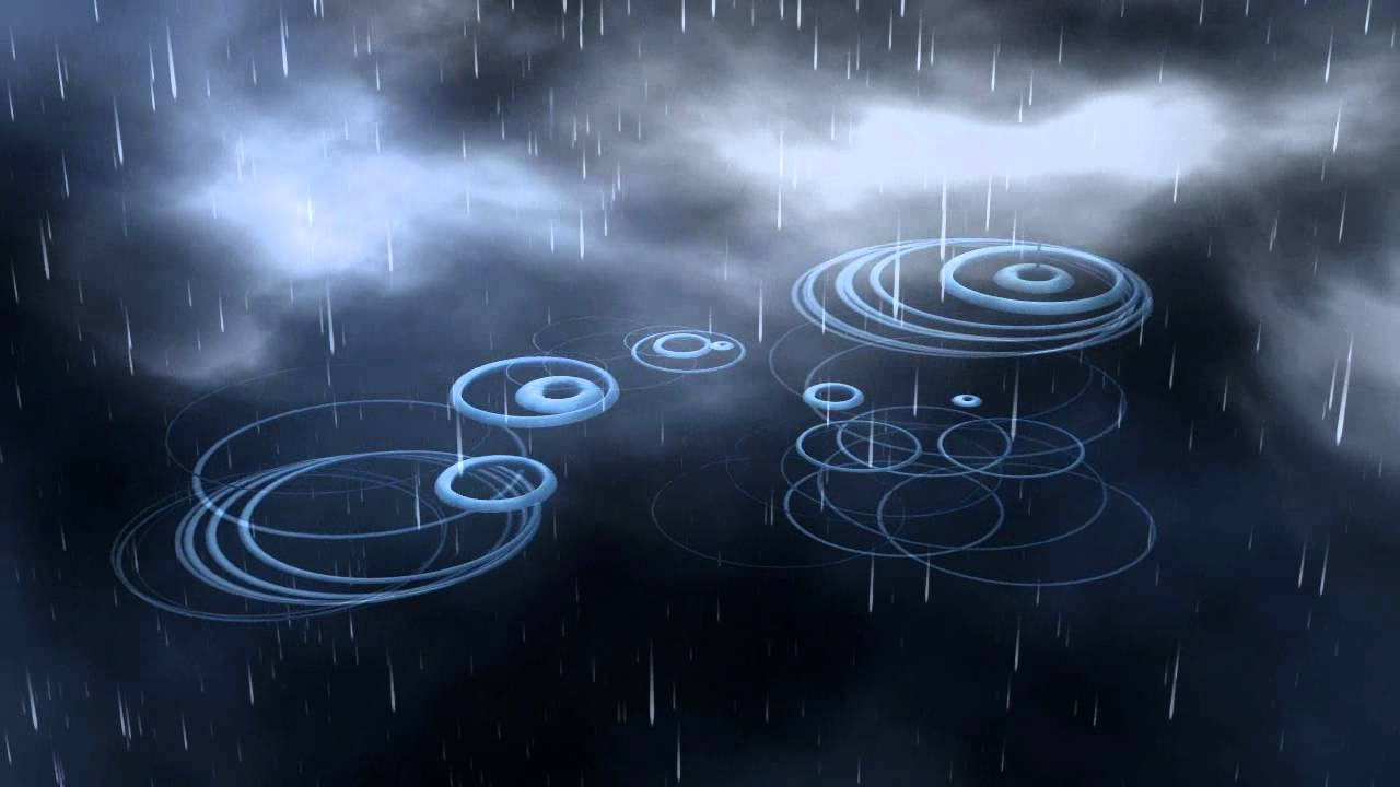 youtube sounds of raindrops
