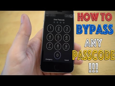 How To Bypass Any iPhone Passcode!