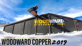 Snowboarding the BEST PARKS in Colorado 2019 (Woodward Copper)