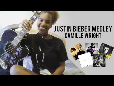 Justin Bieber Medley: 9 Songs In Under 2 Minutes (Camille Wright)