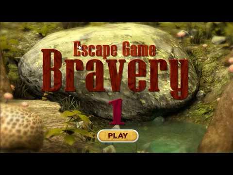 Escape Game Bravery 1 WalkThrough - FirstEscapeGames