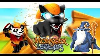Monster legends Trailer 2015 ( Social Point )