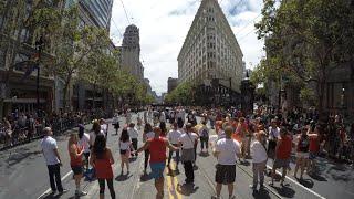Гей парад в Сан-Франциско, Pride Parade SF 2015(Это мое коротенькое видео про гей-парад в США, для тех, кому интересно, как это происходит. Конечно, на самом..., 2015-07-07T07:51:12.000Z)