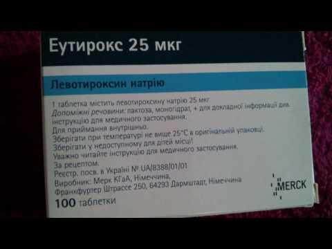 L-Тироксин: инструкция по применению, цена, отзывы