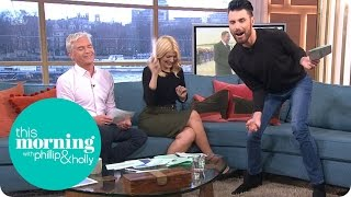 Rylan Clark Gets Attacked By A Moth | This Morning
