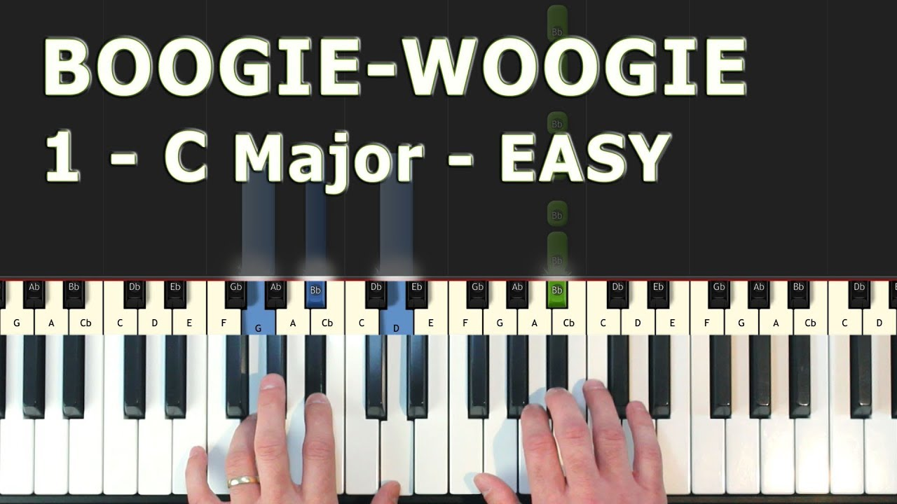 easy boogie woogie piano pdf