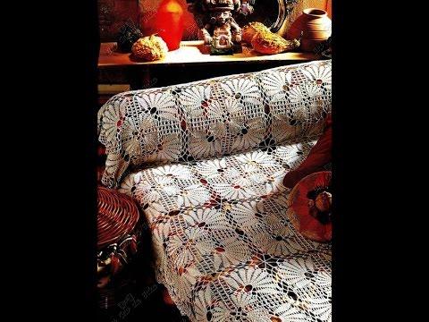 Crochet Patterns| for free |crochet bedspread| 1728 - YouTube