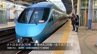 【超満員】小田急 朝ラッシュのロマンスカー乗車率を検証@本厚木駅