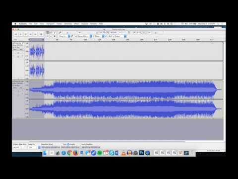 How to produce a radio promo with a music bed in Audacity