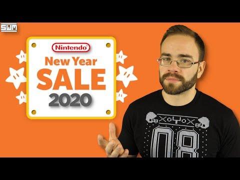 Nintendo's New Years Sale Is HUGE!