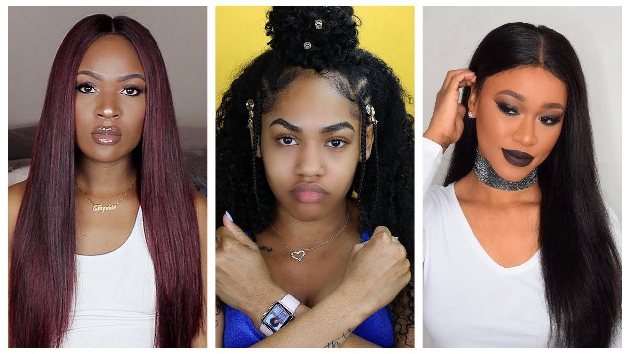 different hairstyles compilation for black women || nadula