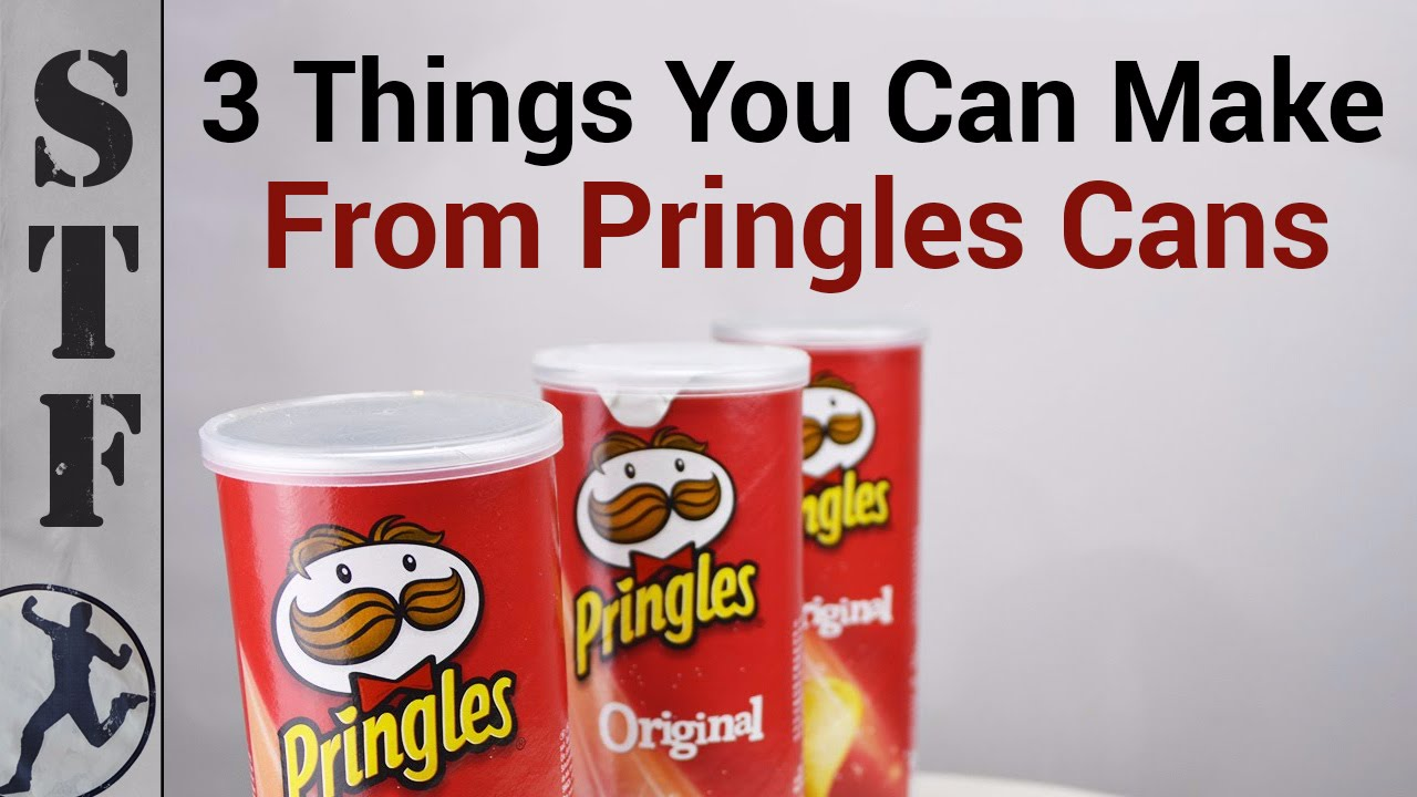 3 things you can make from pringles cans youtube for Cool things to make out of recycled materials