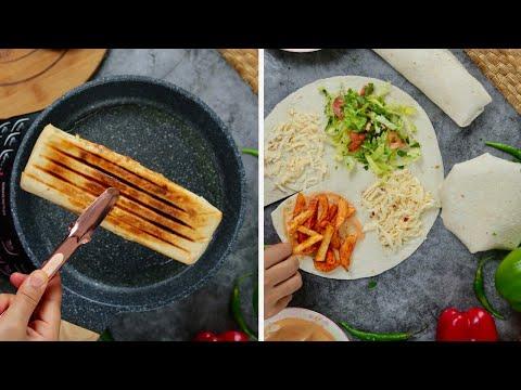 سندويتشات البطاطا الحاره   Spicy Potato Sandwiches/ Easy & Delicious ????