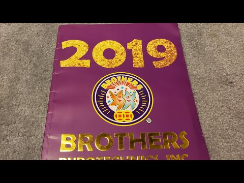 2019 Brothers Firework Catalog