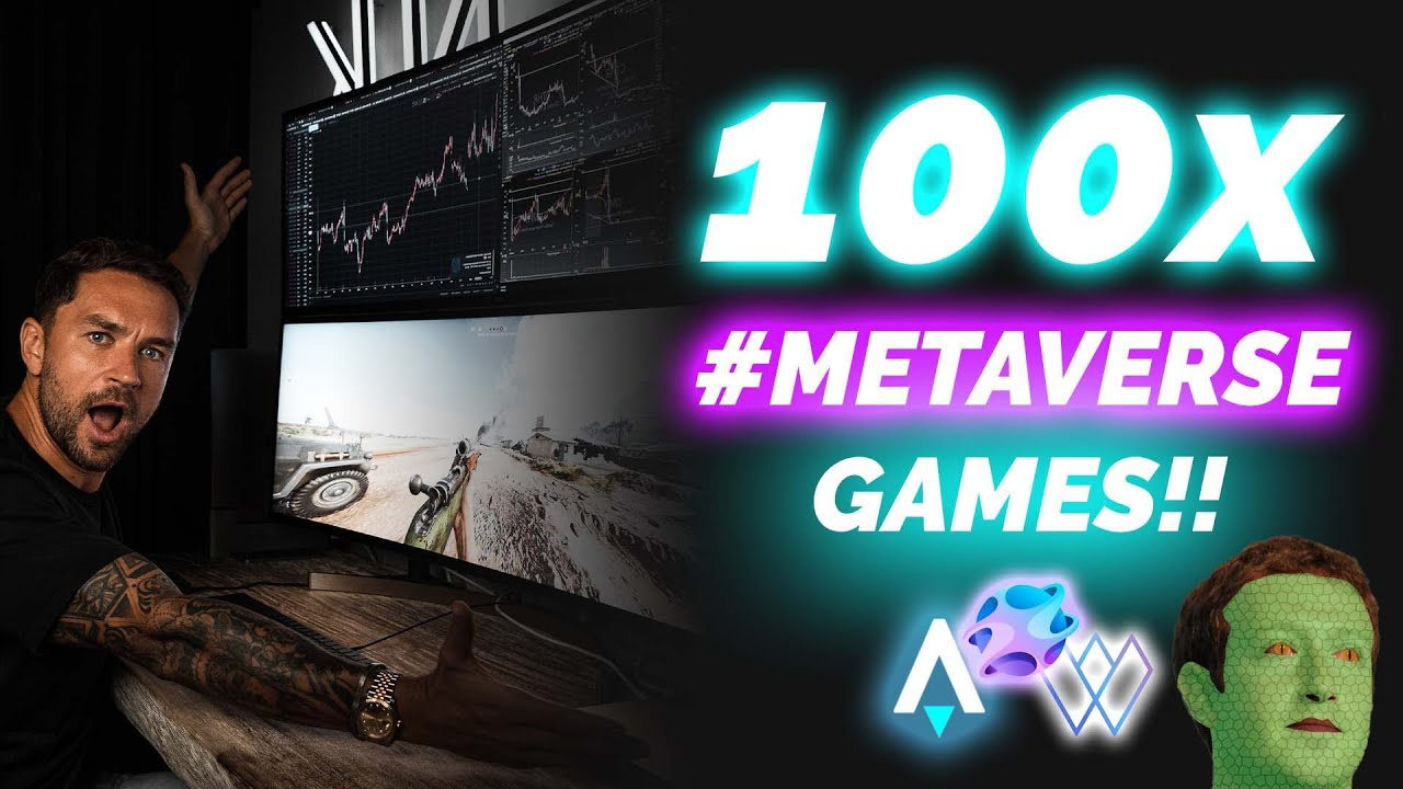 Download Top 3 Metaverse Crypto Gaming Projects AltCoins To Buy Before Facebook!