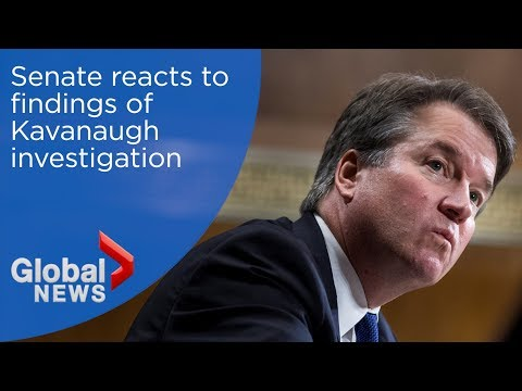 Senate reacts to findings of Kavanaugh investigation