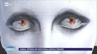 """""""Maeba"""", torna la voce """"aliena"""" di Mina - La Vita in Diretta 22/03/2018"""