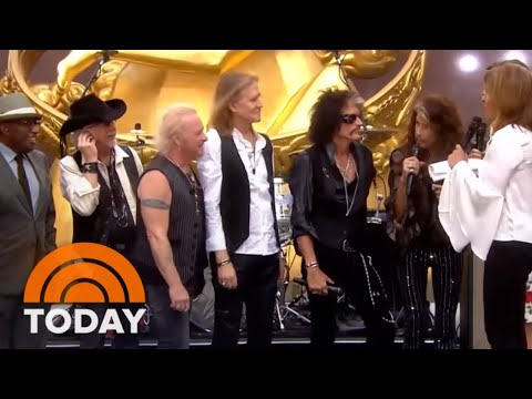 Trudi Daniels - Aerosmith on Today announce they'll play Vegas