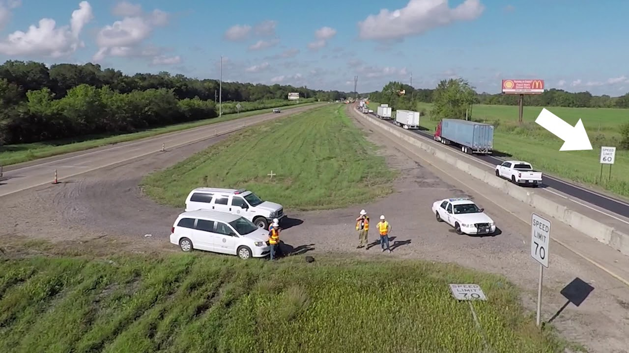 What causes all the I-10 crashes between Lafayette and Baton