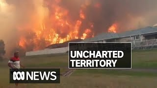 NSW in 'uncharted territory' with record number of emergency fires burning | ABC News
