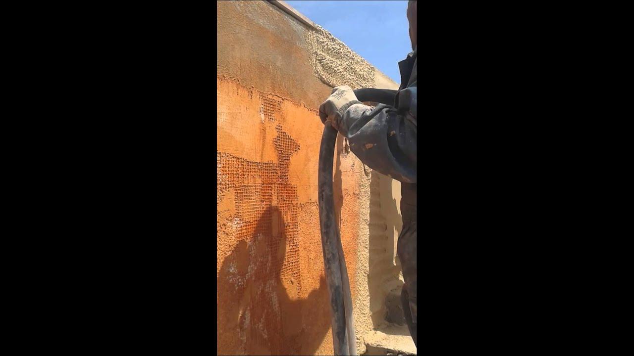 Facadier Facade Mono Couche Desponible En Tunisie Youtube