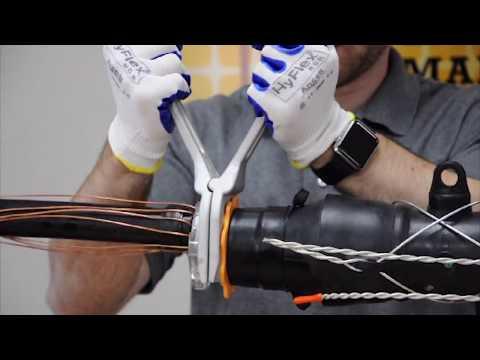 SSC Series   Cold Shrink Splice - Installation Demonstration