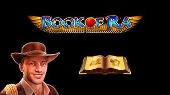Book of Ra online spielen Video mit 10 Freispiele