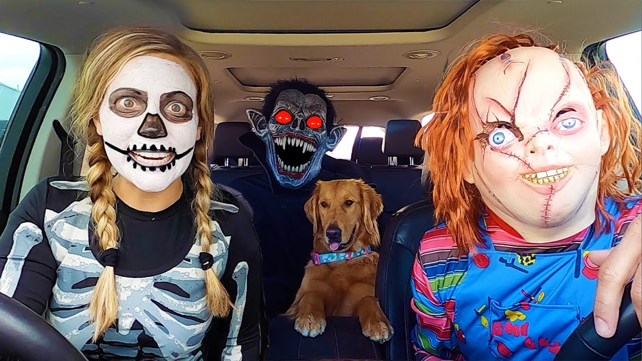 Zoey's Favorite Puppy Surprise Dancing Car Ride Chases