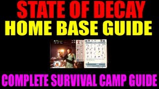 state of decay home base building explained   everything you need to know about survival camp hd