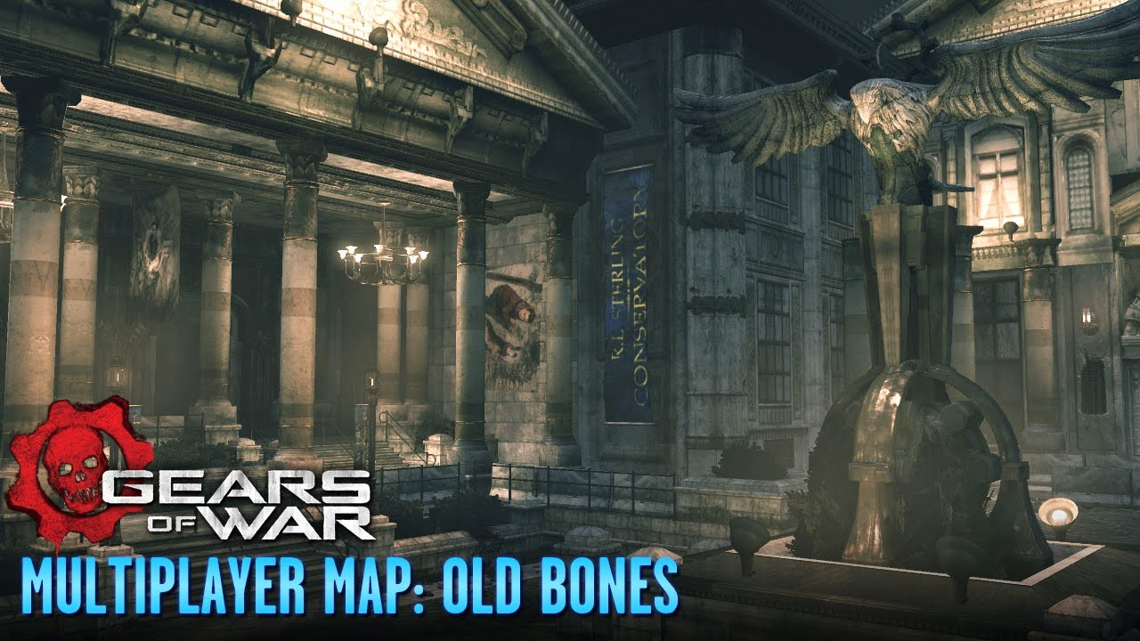Gears of War - Multiplayer Maps and Weapons - Old Bones on fallout 1 maps, call of duty mw2 maps, crackdown 1 maps, halo 1 maps, bioshock 1 maps, cod black ops 1 maps, grand theft auto 1 maps, resident evil 1 maps, dead space 1 maps, borderlands 1 maps, gears of war judgement maps, call of duty 4 maps, unreal 1 maps, modern warfare 1 maps, star wars battlefront 1 maps, gears of war 4 maps, devil may cry 1 maps, gears of war 2 maps, battlefield 1 maps, portal 1 maps,