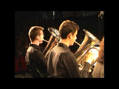 OCP. Orchestre de Cuivres de Paris. Concerto d'ARANJUEZ (2°mvt) (Mars 2011)