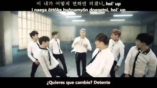 BTS (방탄소년단) - Boy In Luv (상남자) [Sub Español + Hangul + Romanización]
