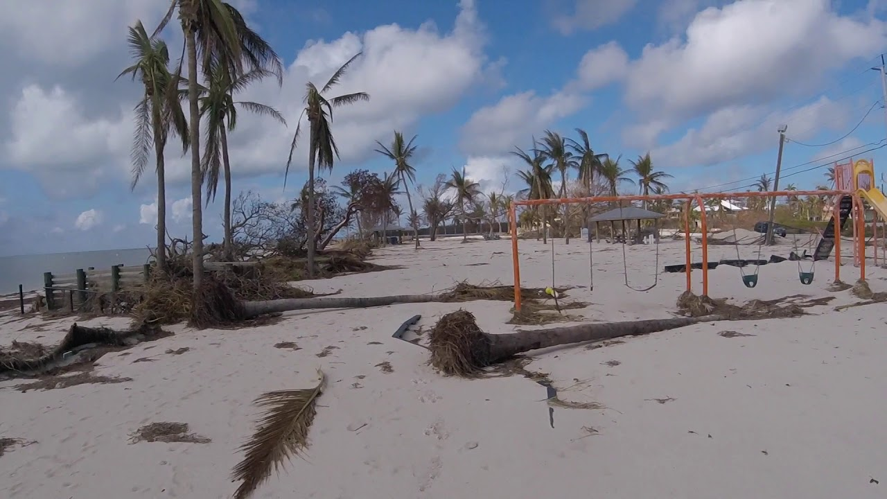Hurricane Irma After The Storm Sombrero Beach Marathon Florida