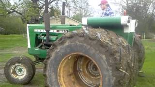 Custom Oliver Tractor.