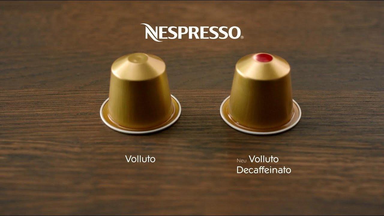Der neue entkoffeinierte Nespresso Grand Cru Volluto  -> Nespresso Decaf