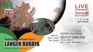 Download lagu live Streaming pagelaran wayang kulit langen budaya Buyut Sarjem 4 oktober 2019 MP3