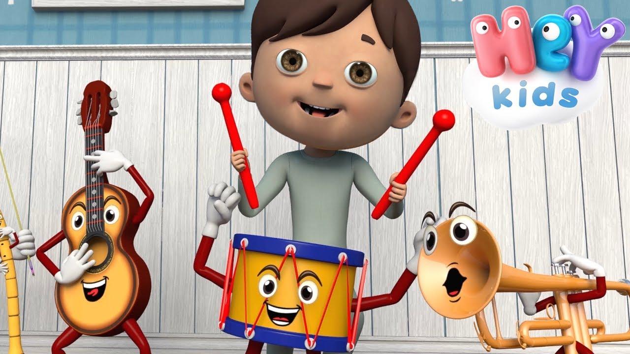 Oh, Bel Bambino, Sai Suonar? 🥁 Canzone degli strumenti musicali per bambini
