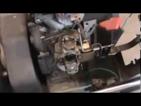 Craftsman Snowblower Carburetor Repair Youtube