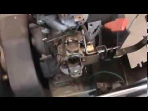 Husqvarna Lawn Tractor Wiring Diagram Bee R Rev Limiter Subaru Craftsman Snowblower Carburetor Repair - Youtube